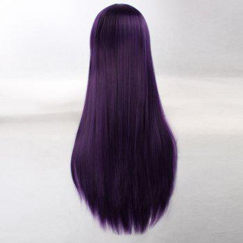 Ultra Long Naruto Cosplay Side Bang Layered Straight Synthetic Anime Wig - CONCORD