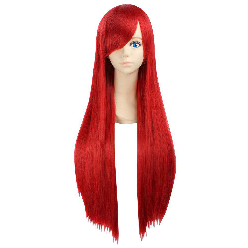 Ultra Long Naruto Cosplay Side Bang Layered Straight Synthetic Anime Wig new arrival 150cm black straight long synthetic hair cosplay anime wig