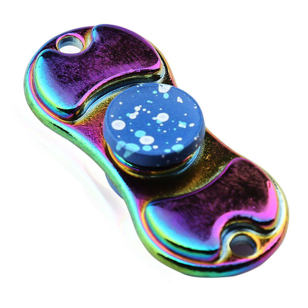 Alloy Colorful Finger Gyro EDC Toy Fidget Spinner carb environmetal diy creative office desktop wood stationery holder 4 layer a4 file organizer clips holder desktop file tray