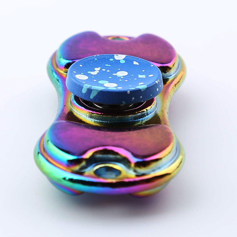 Alloy Colorful Finger Gyro EDC Toy Fidget Spinner - BLUE