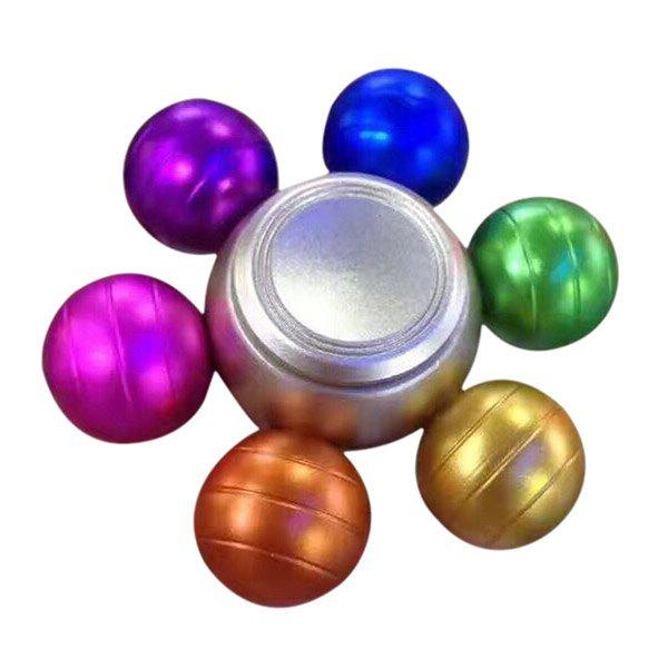 Colorful Ball Alloy Hand Spinner - COLORFUL