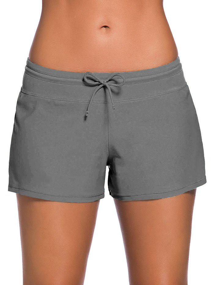 Cordon de Boyshort de Natation - Gris 2XL