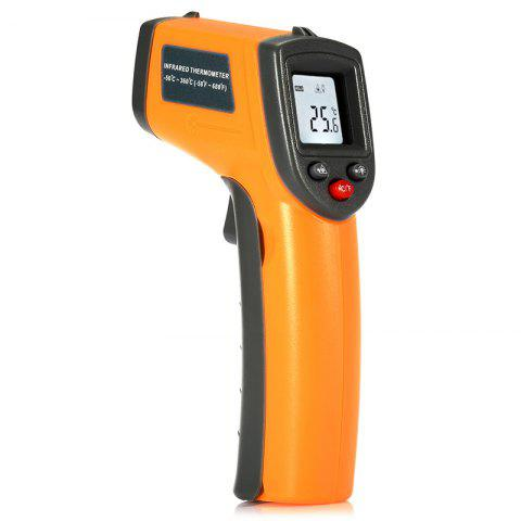 GS320 Non-contact Digital IR Infrared Thermometer - YELLOW