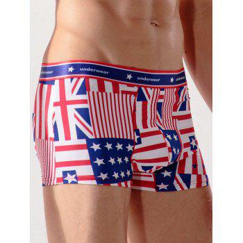 Union Flag Surf Trunks - multicolorcolore 3XL