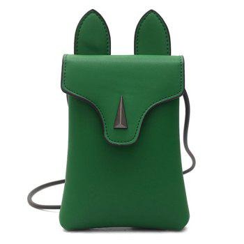 PU Leather Rabbit Ear Crossbody Bag