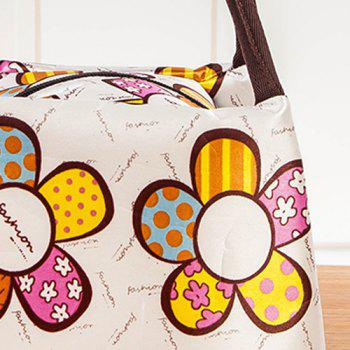 Nylon Printed Lunch bag -  multicolorCOLOR