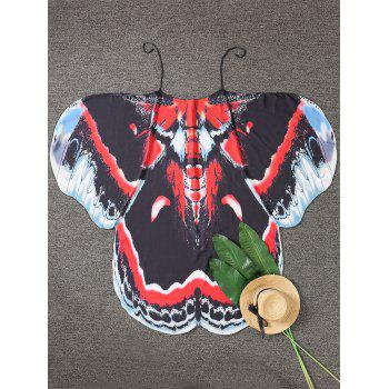 Butterfly Wing Printed Cover Up