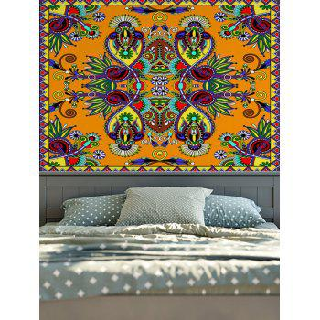 Wall Hangings American Country Boho Floral Print Tapestry