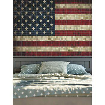 American Flag Wall Hanging wall hanging distressed american flag tapestry, colormix, w inch l