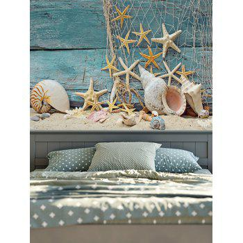 Wall Hanging Starfish 3D Print Rectangle Tapestry