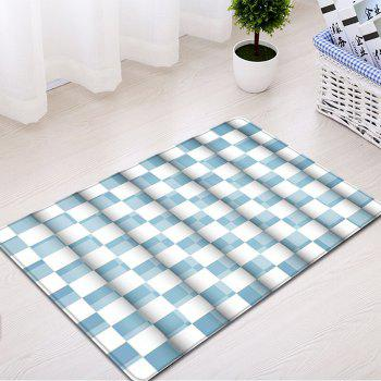 Plaid Pattern Indoor Outdoor Flannel Area Rug