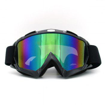 UV Protection Dustproof Off Road Riding Goggles - BLACK BLACK