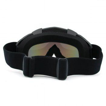 UV Protection Dustproof Off Road Riding Goggles -  BLACK