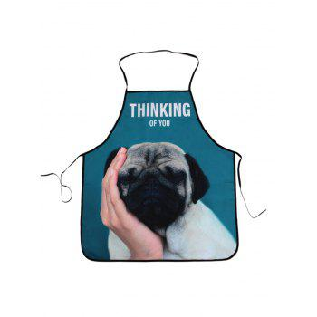 Thinking Dog Cooking Waterproof Fabric Apron