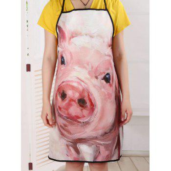 Funny Pig Cooking Oilproof Waterproof Apron - 80*70CM 80*70CM