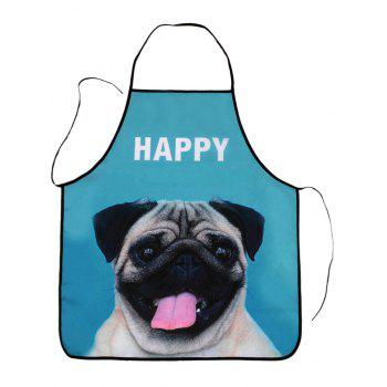 Pug Print Kitchen Tool Waterproof Apron