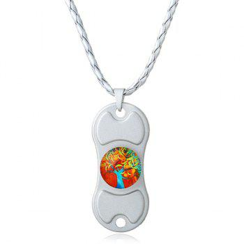 Decoration Tree of Life Hand Spinner Necklace