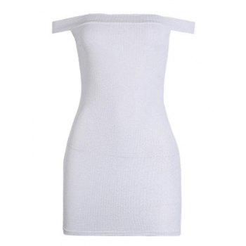 Mini Off The Shoulder Bodycon Dress