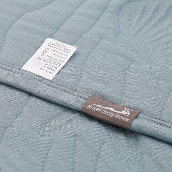 100 Percent Long Stapled Cotton Bedroom Product Blanket - BLUE BLUE