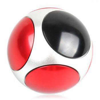 Football Round Polyhedron Hand Spinner -  COLORFUL