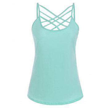 Criss Cross Cut Out Cami Top