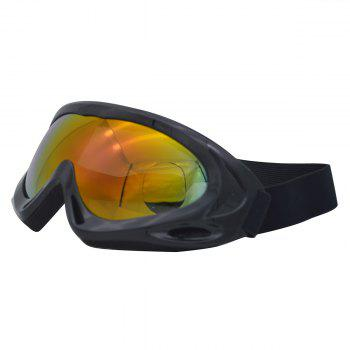 Dustproof Anti Fog UV Protection Riding Goggles -  BLACK