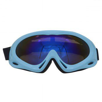 Dustproof Anti Fog UV Protection Riding Goggles - BLUE BLUE