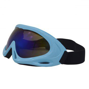 Dustproof Anti Fog UV Protection Riding Goggles -  BLUE