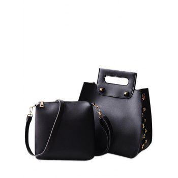 Crossbody Bag and Studded Handbag