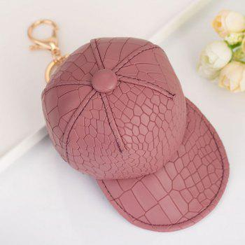 Snake Printing Baseball Hat Coin Purse Key Chain