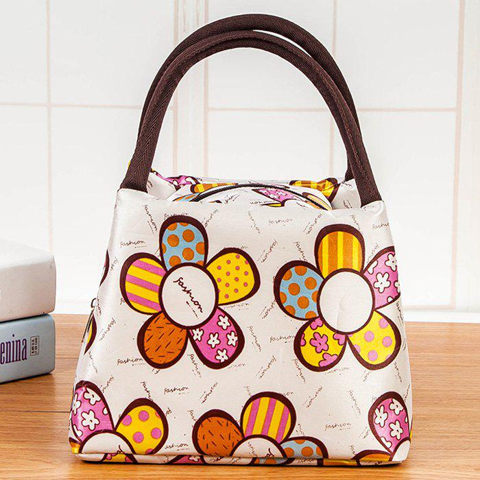 Sac à lunch en nylon imprimé - multicolorcouleur