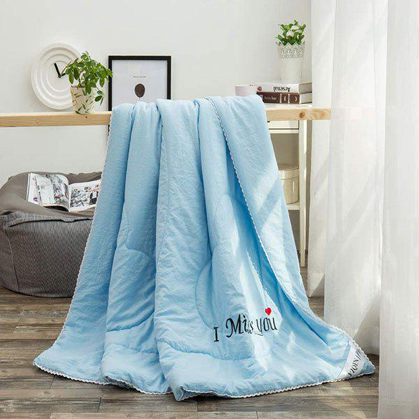 100% de conditionnement de polyester I Miss You Blanket - Pers FULL