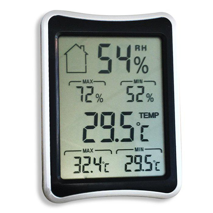Temperature Humidity Display Digital Thermometer Hygrometer indoor outdoor lcd digital 433mhz wireless 8 channel thermo hygrometer 5 remote sensors thermometer hygrometer