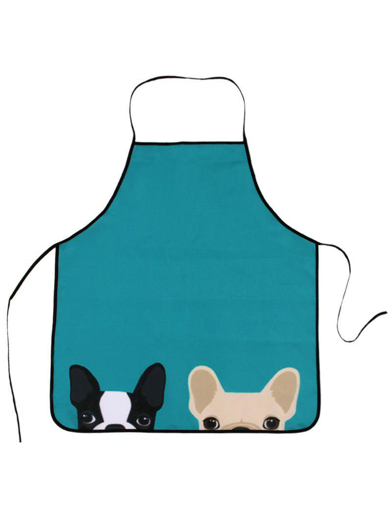 Household Pet Animal Water Resistant Apron - LAKE BLUE 80*70CM