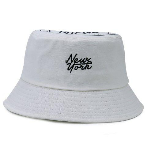 7fd71bde437 2019 Letters Printing Top Icon Embellished Bucket Hat In OFF WHITE ...