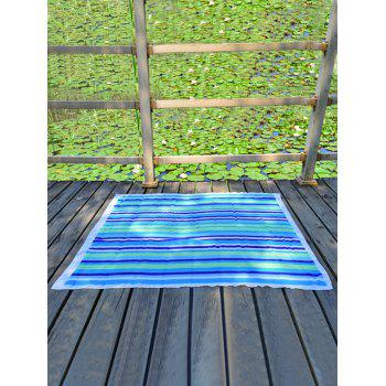 Stripe Rectangle Chiffon Beach Throw