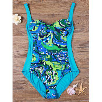 Printed Padded One Piece Swimsuit