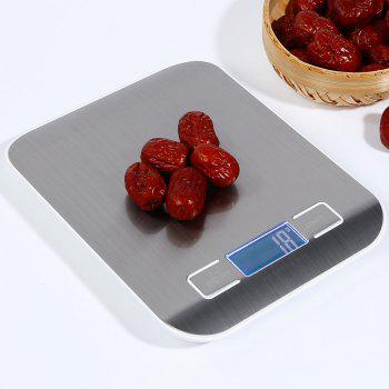 5Kg 1g Food Diet Stainless Steel Kitchen Electronic Scale
