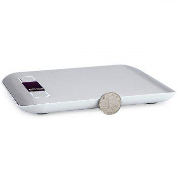 5KG/1G Food Diet Stainless Steel Kitchen Electronic Scale - SILVER SILVER