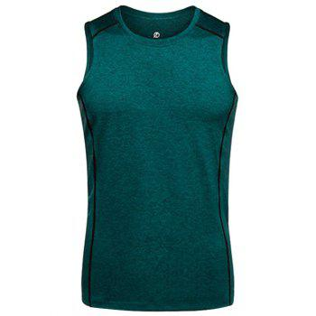 Crew Neck Slim Fit Quick Dry Training Tank Top