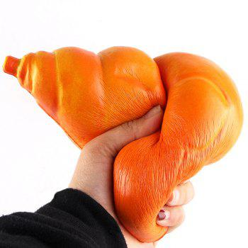 Cartoon Slow Rising Chicken Leg Bread Squishy Toy - ORANGE ORANGE