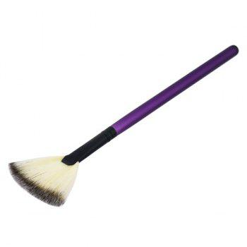 Portable Slim Beauty Makeup Fan Brush