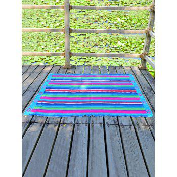 Stripe Rectangle Chiffon Flower Printing Beach Throw