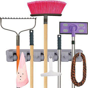 Household Wall Mounted Broom Mop Holder Hanger