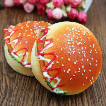1Pcs Squishy Toy Simulation Hamburger Photography Prop