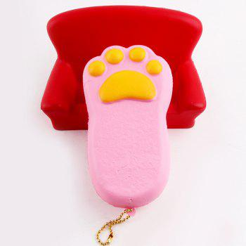 Bear Claw Squishy Antistress Toy Simulation Cake -  PINK