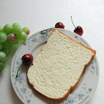 1Pcs Squishy Toy PU Simulation Toast Home Decoration - LIMEADE