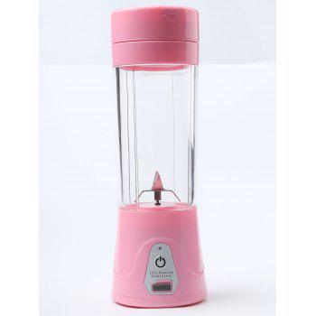 USB Charging Fruit Stirring Healthy Multifunctional Juicer Cup -  PINK