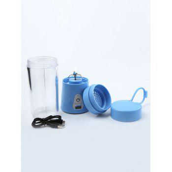 USB Charging Fruit Stirring Healthy Multifunctional Juicer Cup -  BLUE