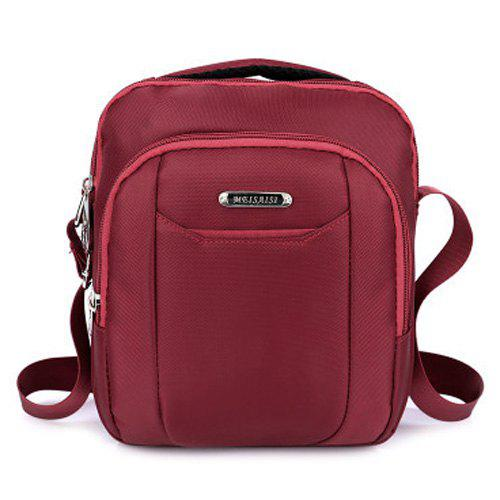 Multi Zips Nylon Crossbody Bag thrasher наклейка thrasher skate and destroy m